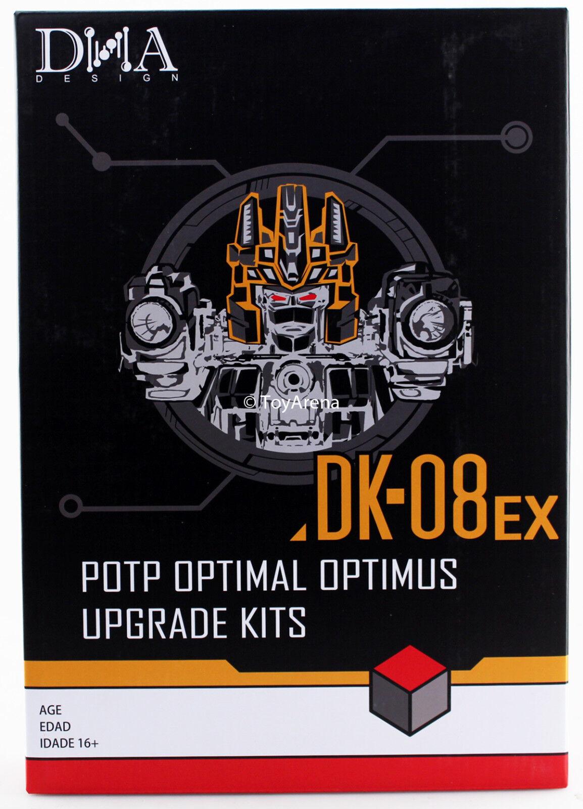 Diseños de ADN DK-08EX Kit de actualización para potp Sdcc PP-43 Optimus Óptimo En Stock