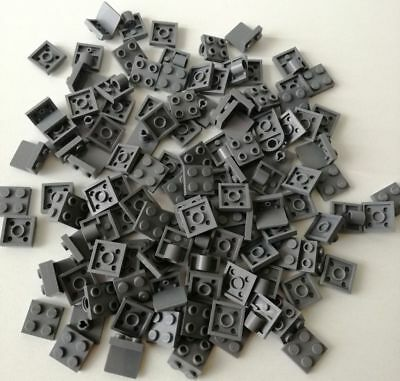 Lego 100x Piastre 2x2 Grigio Scuro Miste Lotto Set Kg Sped Gratis Su + Acquisti