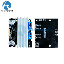 10a Dual Channel H Bridge Dc 3 18v Motor Drive Module Pwm Adust Speed Dimming