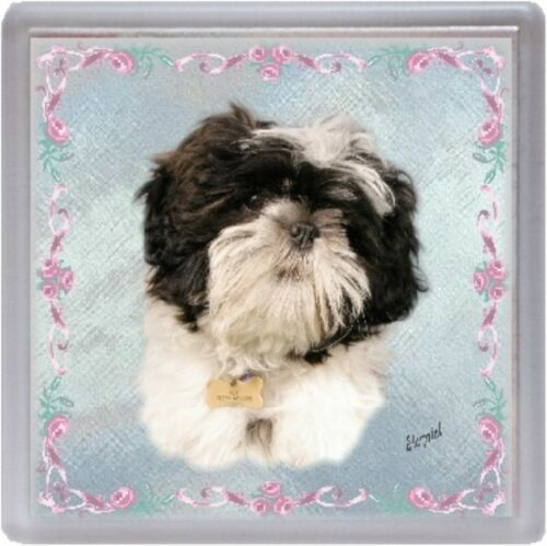 Shih Tzu  Dog Coaster Design No 2 by Starprint