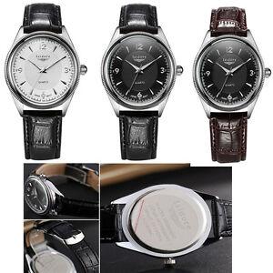 NEW-Waterproof-Fashion-Casual-Quartz-Watch-Men-Analog-WristWatch-Leather-Watches