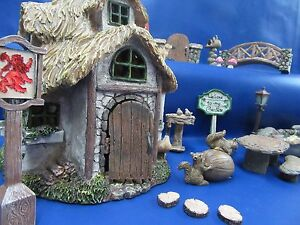 Fairy-Garden-Miniature-Garden-Outdoor-or-Indoor-Fairy-Miniature-Garden-NEW