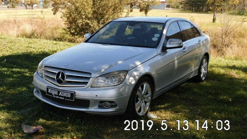 2008 Mercedes-Benz C 180K Avantgarde AT
