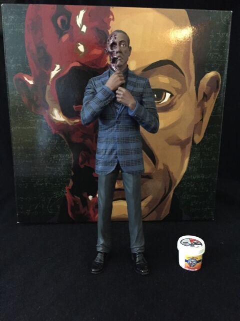 Mezco Breaking Bad Gus Fring 6 Inch Action Figure NEW Burned Variant