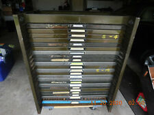 23 California Job Cases With Type And Job Case Rack