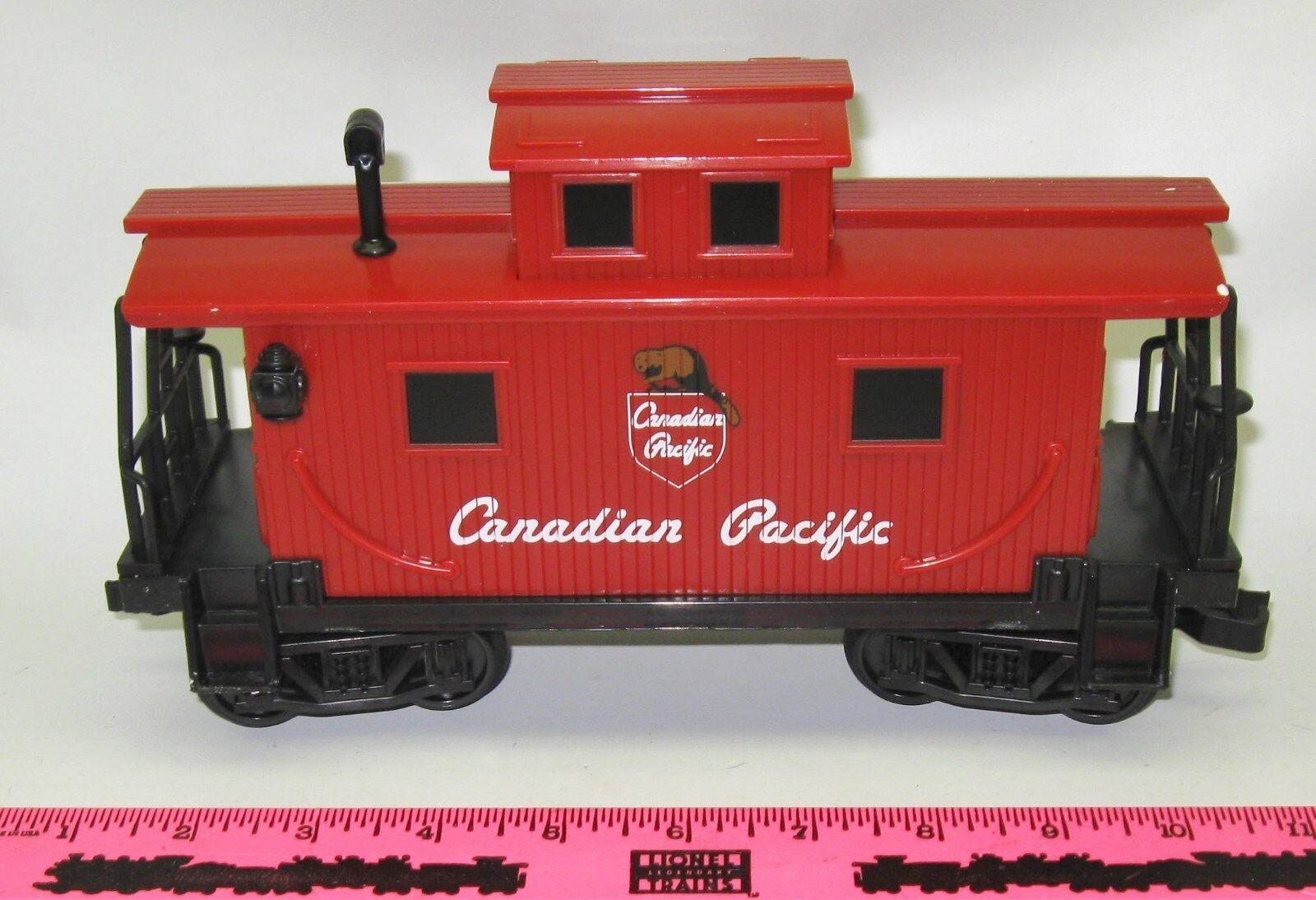 Lionel new new new 711401 Canadian Pacific G-Gauge caboose e82dea