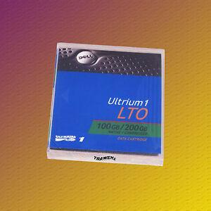 Dell-LTO-1-09w084-100-200-Go-Data-cartridge-cartouche-de-donnees-nouveau-amp-OVP