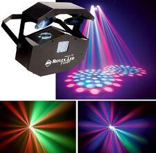 American DJ REFLEX PULSE TWIN Scanner Strobe DOUBLE EFFECT Illuminazione LED DISCOTECA DJ