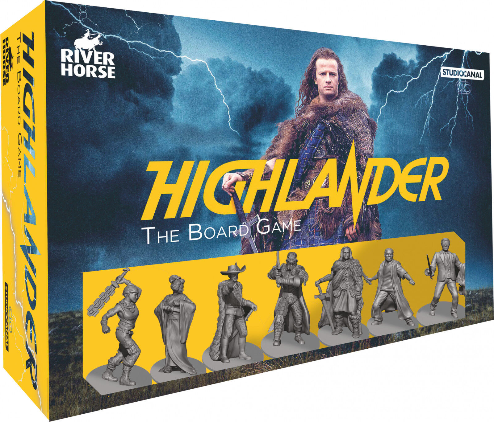 Highlander The Board Game  - BRAND NEW