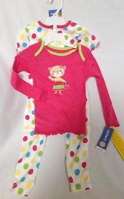 New Carter/'s Cat Kitty Romper Snug Fit Cotton Pajama 1 Pc Girl 2T,3T,4T,5T