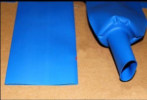 Φ80mm 2:1 Blue Heat Shrink Tubing Sleeving Cable 1KV Electrical Wrap Tube x 1 M