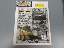 Mustang Skid Steer Loader Attachments Brochure 6 Page