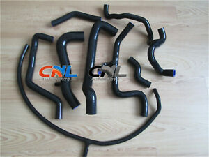 VW-GOLF-JETTA-MK3-A3-VR6-2-8-2-9-AAA-ABV-NON-US-SILICONE-COOLANT-HOSE-KIT-BLACK
