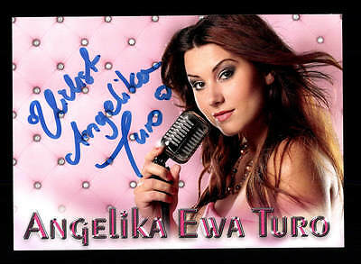 National Mutig Angelika Ewa Duro Autogrammkarte Original Signiert ## Bc 106389 Verschiedene Stile