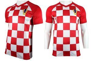 Jersey Herren Details Jersey Croatia Shirt Fitness Fußball Trikot T Mannschaft zu Kroatien XiPTZukO
