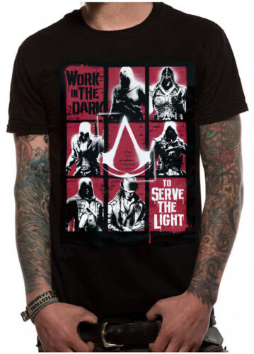 Official Ubisoft ASSASSIN/'S CREED Legacy Unisex T-Shirt Tee NEW /& IN STOCK NOW