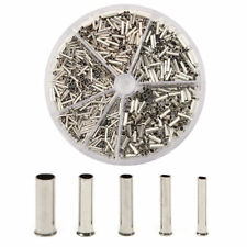 1900pcs Insulated Cable Lugs Wire End Sleeves Ferrules Kit 0525mm Assortment