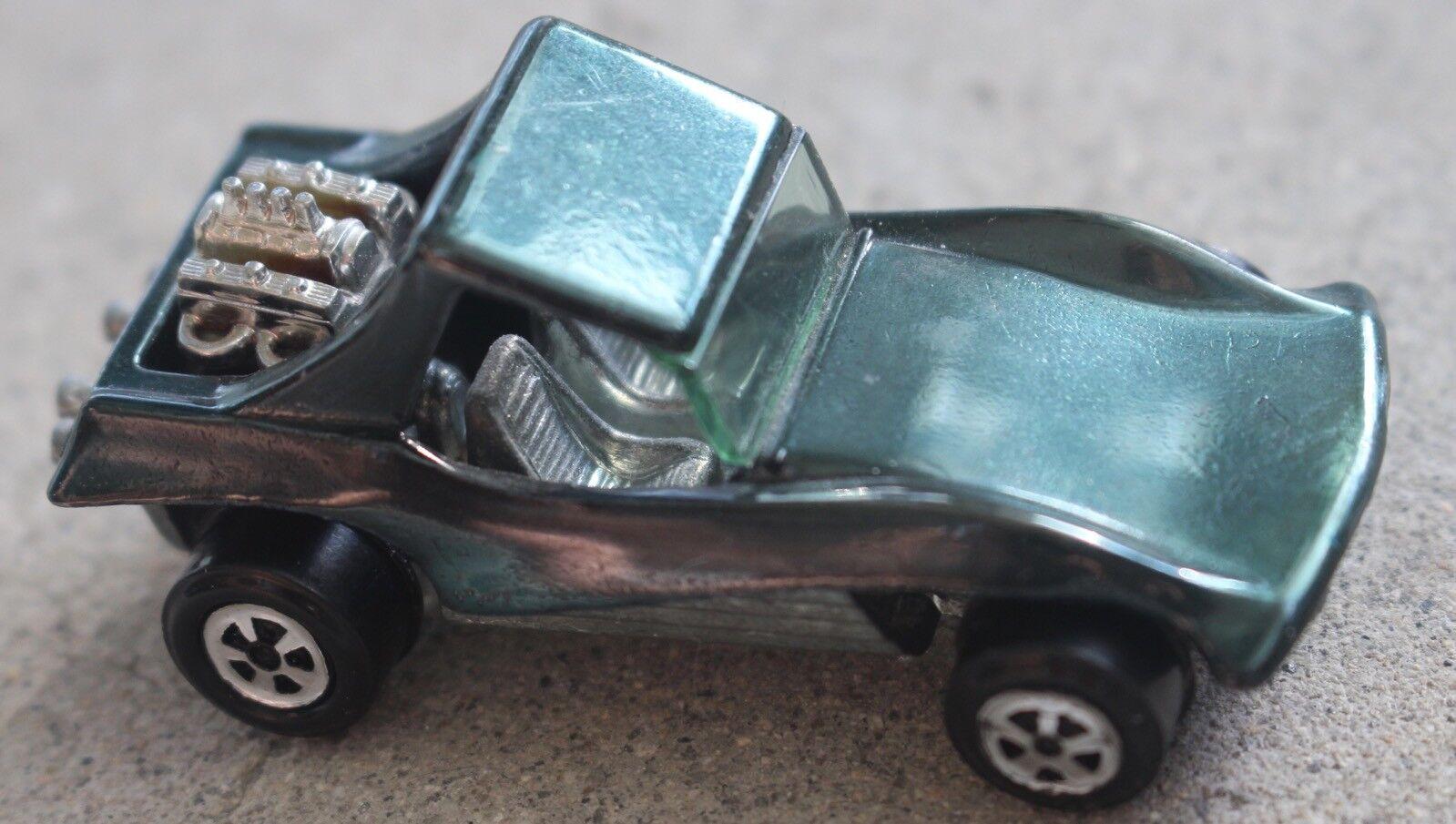 Oldtimer - johnny lightning sand stormer topper dunkelgrüne druckguss auto rotline