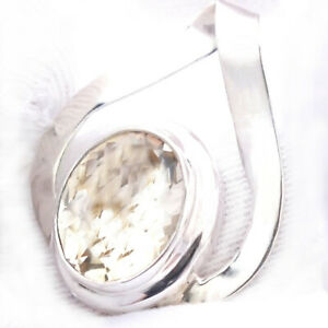 Citrin-SILBER-925-25mm-Anhaenger-f-Ketten-citrine-12x9-5mm-facette-VIDEO-06-oval