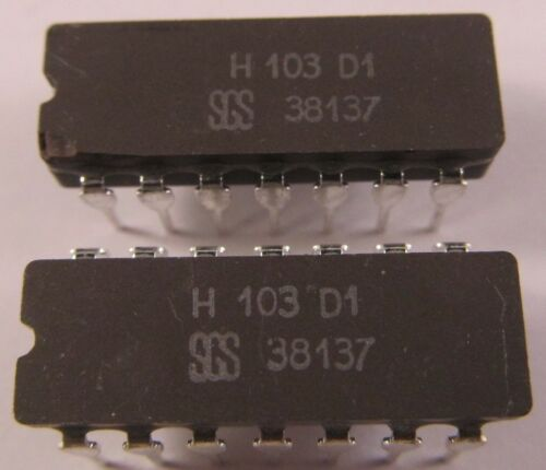 RARITÄT SGS H103D1-2 Stück