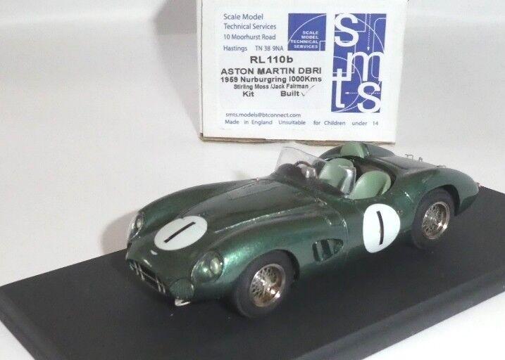 Aston Martin DBR1 win 1000km Nürburgring 1959 Moss Fairman  1 SMTS RL110B 1 43