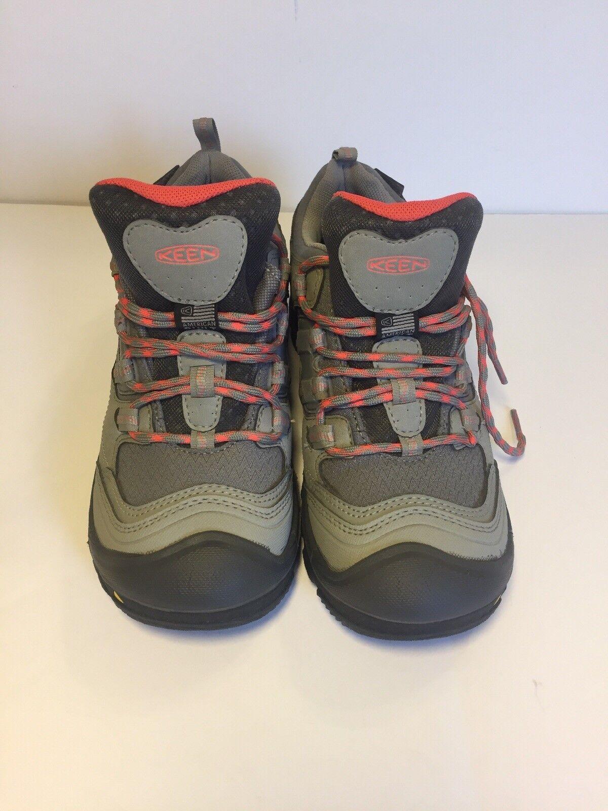 Keen Mujer Logan Neutral gris Hot Coral Talla 6.5  Nuevo Zapatos De Senderismo E9-38-51  a la venta