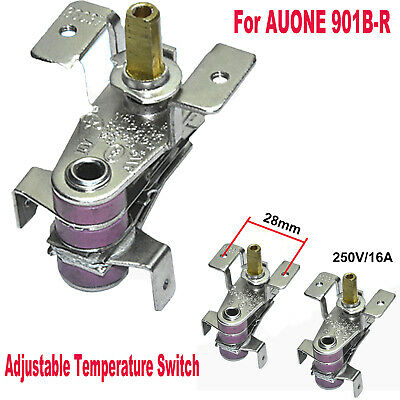250V 10A auone 901B-R Thermo Switch Thermostat Temperature Switch Adjustable