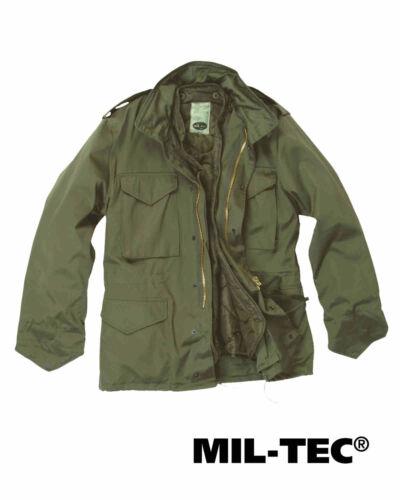 Mil-tec us campo chaqueta m65 T//C M fu oliva hidrófuga chaqueta