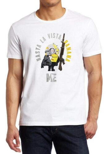 Despicable ME Minions Terminator I ll be back minion parody shirt Custom T-shirt