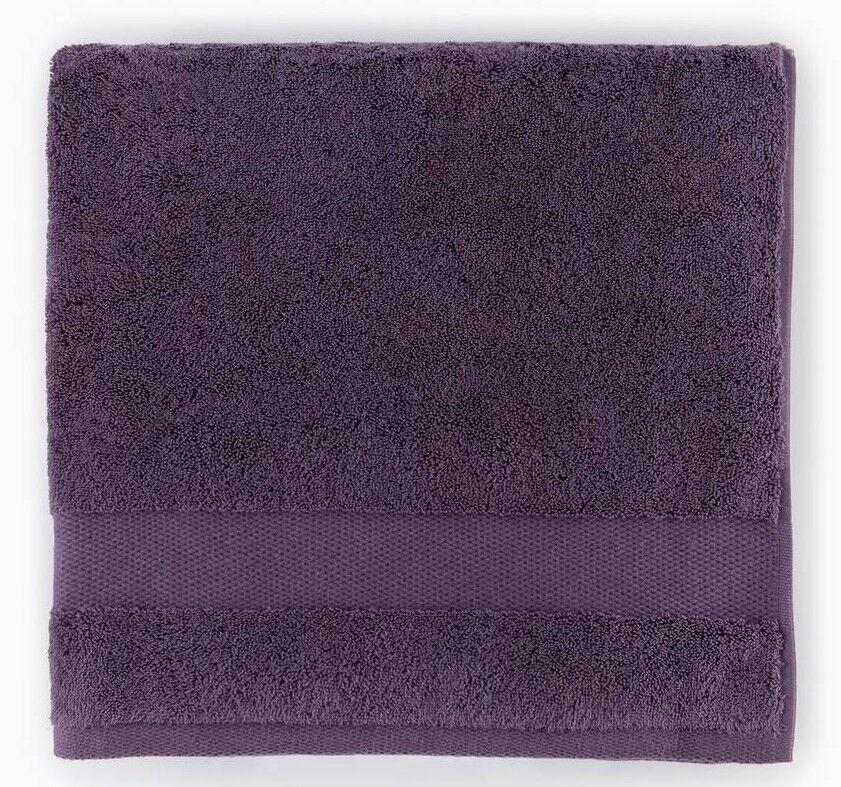 NEW SFERRA 2 PC Bello Washcloth Towels AUBERGINE Dark Purple 12 x 12