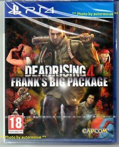 Dead-RISING-4-Frank-039-S-BIG-pacchetto-Inc-tutti-i-DLC-034-NUOVO-amp-Sealed-039-PS4-quattro