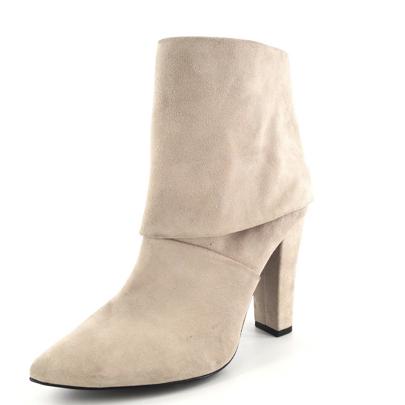 Vince Camuto Amya Classic Taupe Suede Ankle Boots Women's Size 11 M