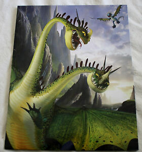 How to train your dragon movie 2 pocket folder zippleback two headed image is loading how to train your dragon movie 2 pocket ccuart Choice Image