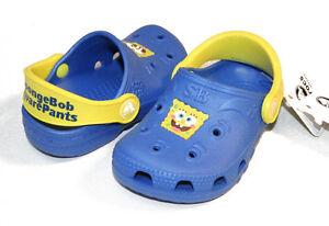 CLOSEOUT Crocs Sponge Bob Wave Blue