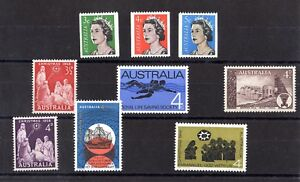 Australia-QEII-Mint-Collection-of-9-Values-X8048