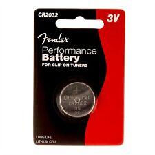 Fender Performance 3V Batteria per sintonizzatori Clip On