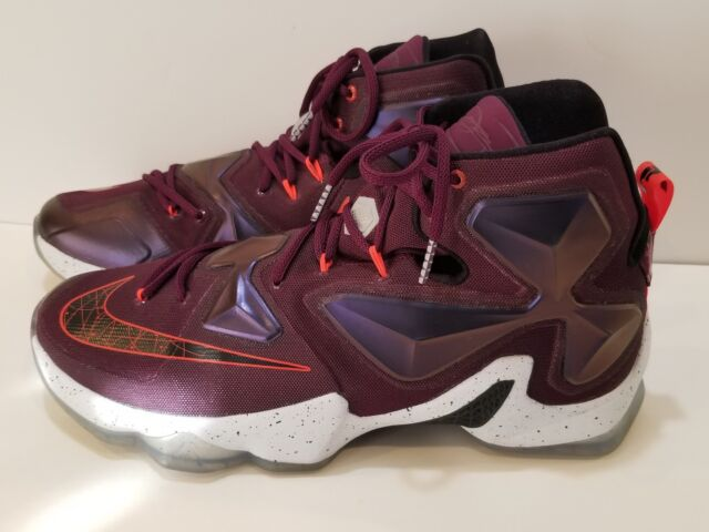 ebcef18bacf Nike Lebron James XIII 13 Mulberry Purple Written In The Stars 807219-500  Sz 13