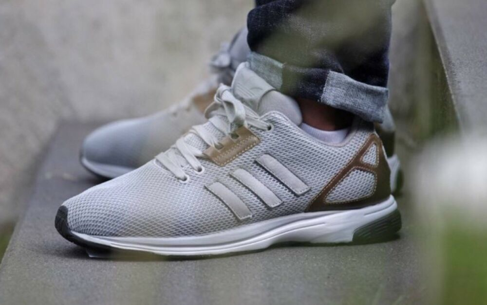 Adidas Zx Flux Tech ZERO Homme Baskets Taille UK 7.5-