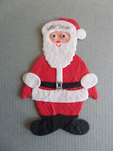 20 x Red Felt Christmas Santa/'s Sleigh Small Toppers Card Making Scrapbook