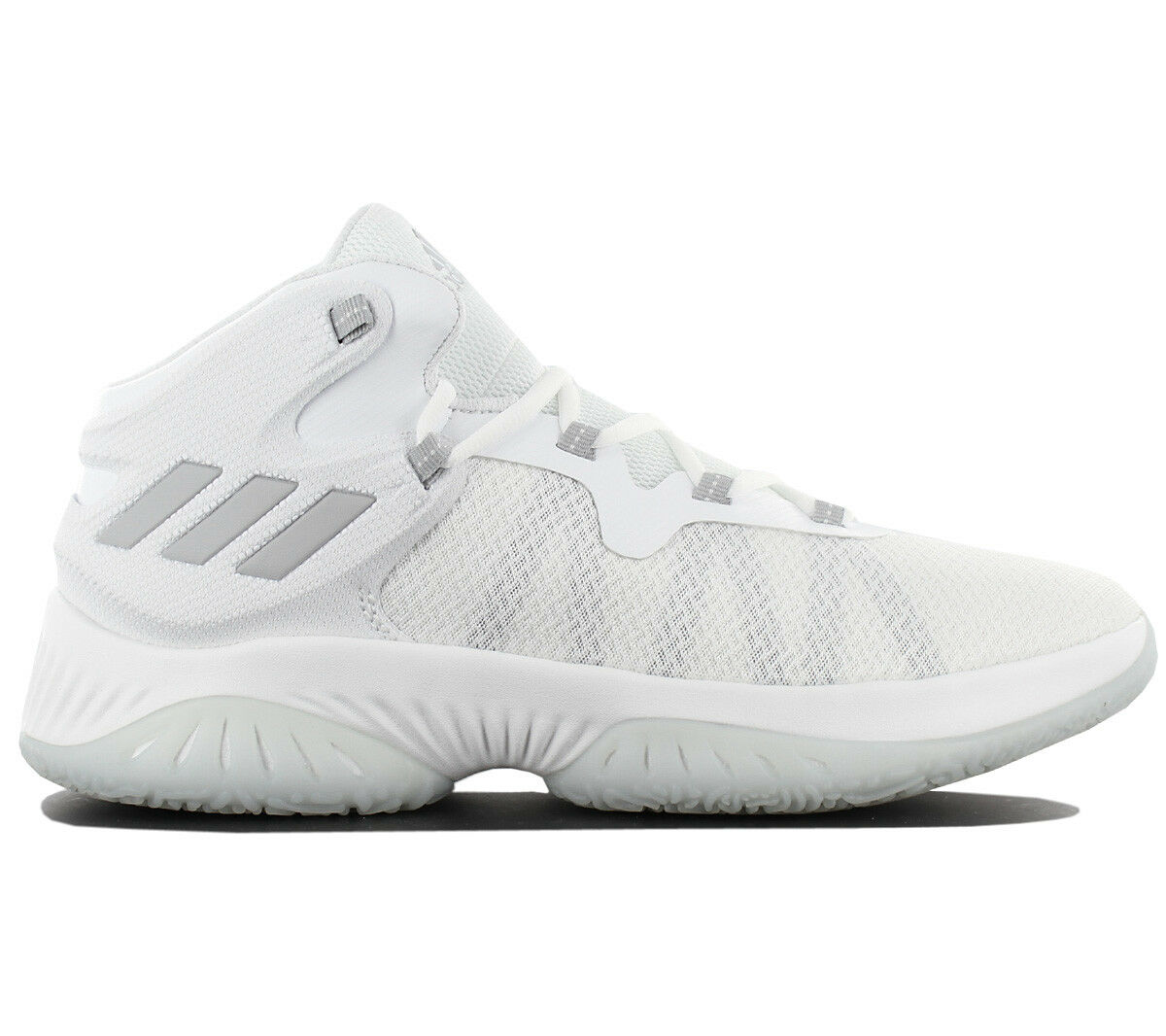 Adidas Explosive Bounce Men's Basketballshoe shoes Trainers White By4467