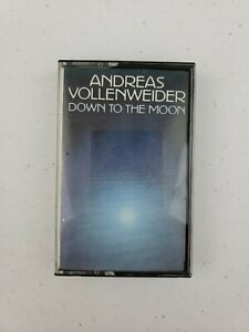 Down to the Moon by Andreas Vollenweider (Cassette Tape 1996 CBS) EXCELLENT