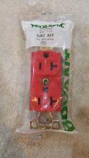 Bryant 5362 Red Spec Grade Red Duplex Receptacle 20a 125v 5 20r Ebay