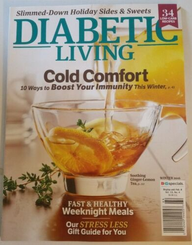 Diabetic living magazine winter 2016 issue health cooking food diabetic living magazine winter 2016 issue health cooking food diabetes recipes forumfinder Gallery