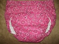 Dependeco All In One Cloth Adult Diaper S/m/l/xl (pink Bandana)