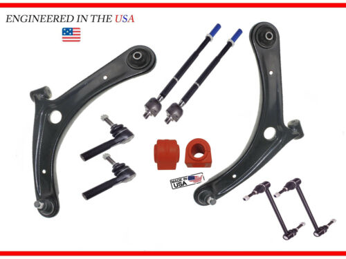 Front Lower Control Arm Inner Outer Tierod 2007-2014 Dodge Caliber Jeep Compass