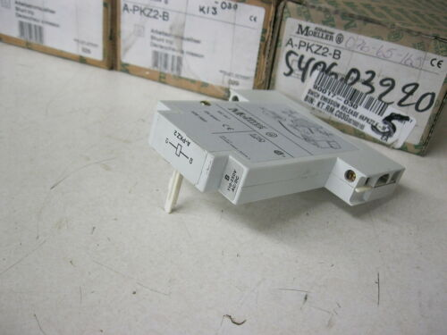 PKZ2 Manual Motor Protector Klockner Moeller A-PKZ2-B Shunt Trip ...