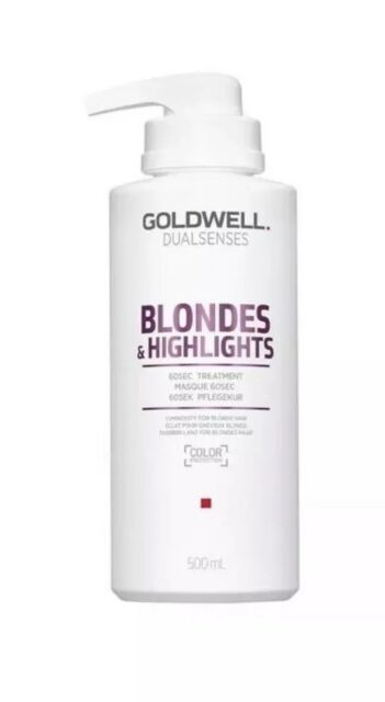 Goldwell Dual senses Blondes & Highlights 60 Sec Treatment 500ml