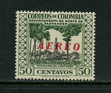 Colombia 1958  #C312  oil wells OVERPRINTED airmail  1v.  MNH  J670
