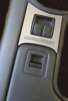 Brushed Metal Power Window Trim Mazdaspeed Fits 2009 2015 Mazda Mx-5 Miata