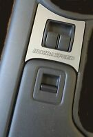 Brushed Metal Power Window Trim Mazdaspeed Fits 2009 2015 9 15 Mazda Mx-5 Miata